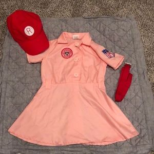 Other - Rockford Peach Toddler Costume